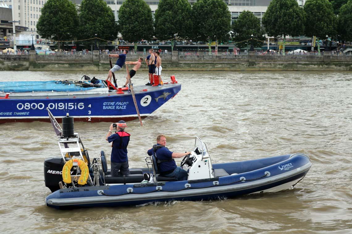 RIB Thames Trainer & Dolphin